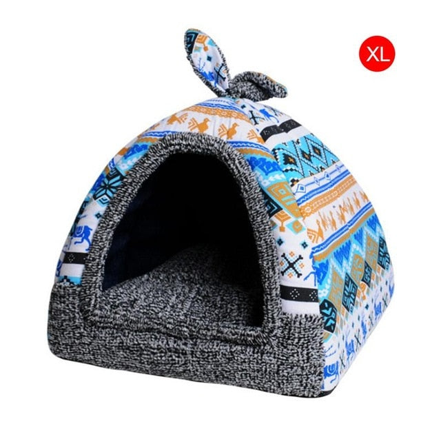 Hot Fleece Soft Pet Yurt Home Bed - Shop For Gamers