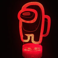 Among Us LED Table Lamp - Shop For Gamers