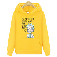 Winter Rick and Morty Characters Hoodies - Shop For Gamers