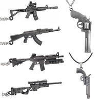 AK47 M16 M4A1 AWM Long Necklace - Shop For Gamers