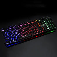 Teclado Gamer Floating LED Backlit Keyboard