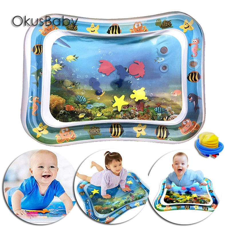 Inflatable Water Mat for Babies - Shop For Gamers