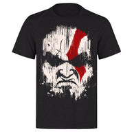 Kratos God Of War Demigod Face T-Shirt - Shop For Gamers