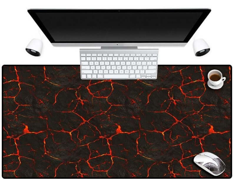 KULIAI HD Painting Gaming Volcanic Mouse Pad - Shop For Gamers