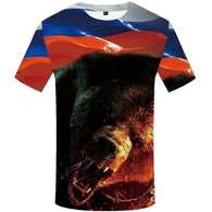 Bear 3d Printed T-Shirt - Shop For Gamers