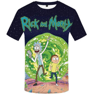 Rick And Morty 3D Printed T-Shirt - Shop For Gamers