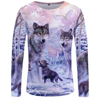 The Mountain Wolf Long Sleeve T-Shirt - Shop For Gamers