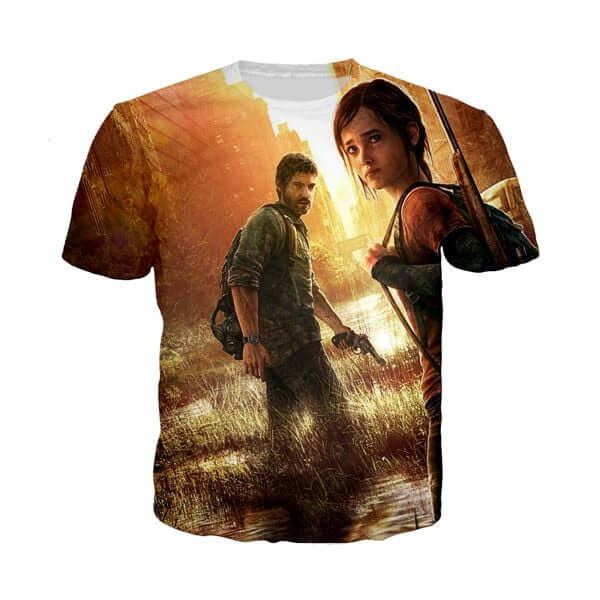 The Last Of Us T-Shirt - Shop For Gamers