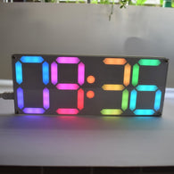 Rainbow Color Digital Clock - Shop For Gamers