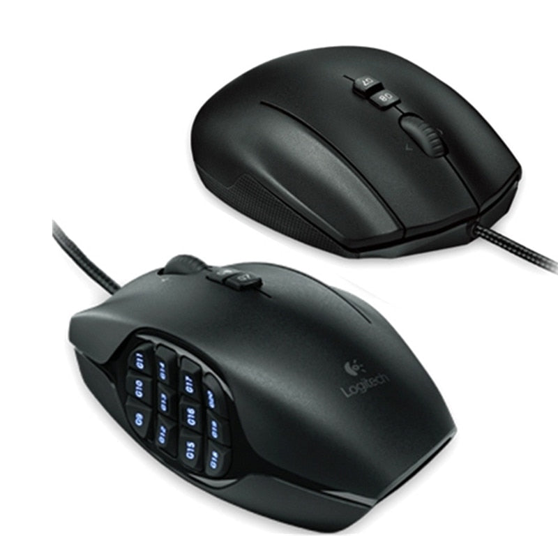 Logitech G600 MMO Wired Gaming Mouse - Shop For Gamers