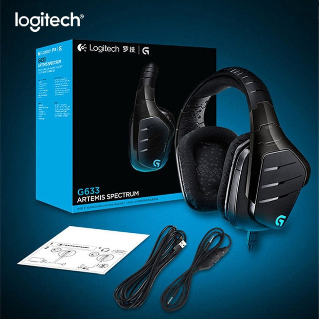 Logitech G633 7.1 RGB Gaming Headset - Shop For Gamers