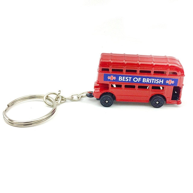 London Bus And Mail Box Keychain - Shop For Gamers