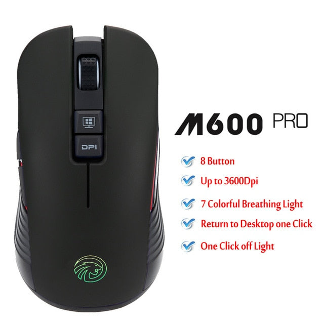 M600 Pro Wireless Gaming Mouse - Shop For Gamers