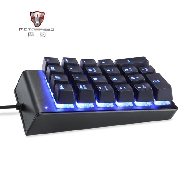 MOTOSPEED K22 Mechanical Numeric Keypad - Shop For Gamers