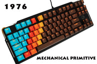 MP 1976 Chocolate Color 108 Keys Mechanical Gaming Keyboard - Shop For Gamers