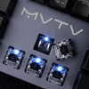 MVTV TK610 Wired Mechanical Gaming Keyboard - Shop For Gamers