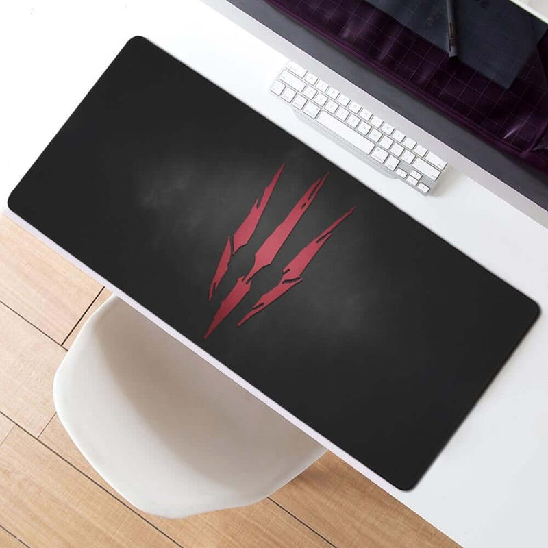 MaiYaCa Red Logo The Witcher 3 Wild Hunt Mouse Pad