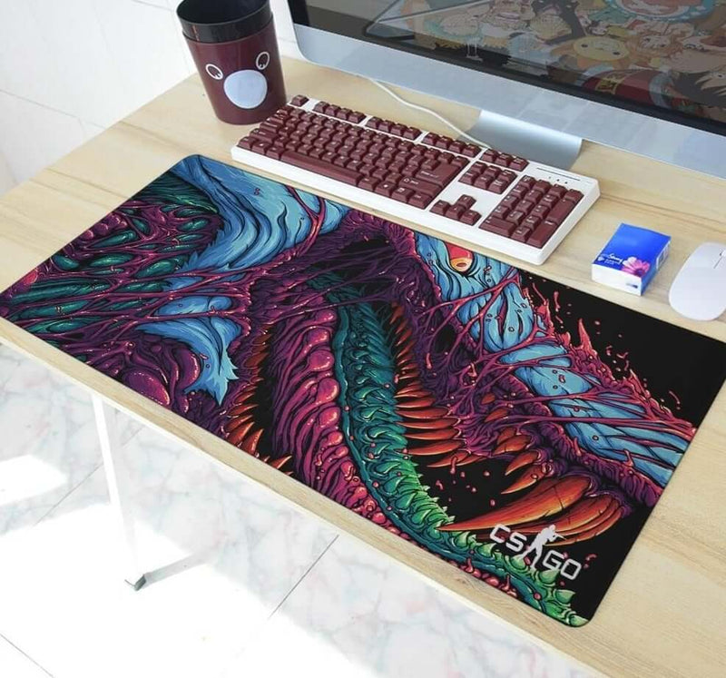 Fire Hyper Beast Mouse Pad - Shop For Gamers