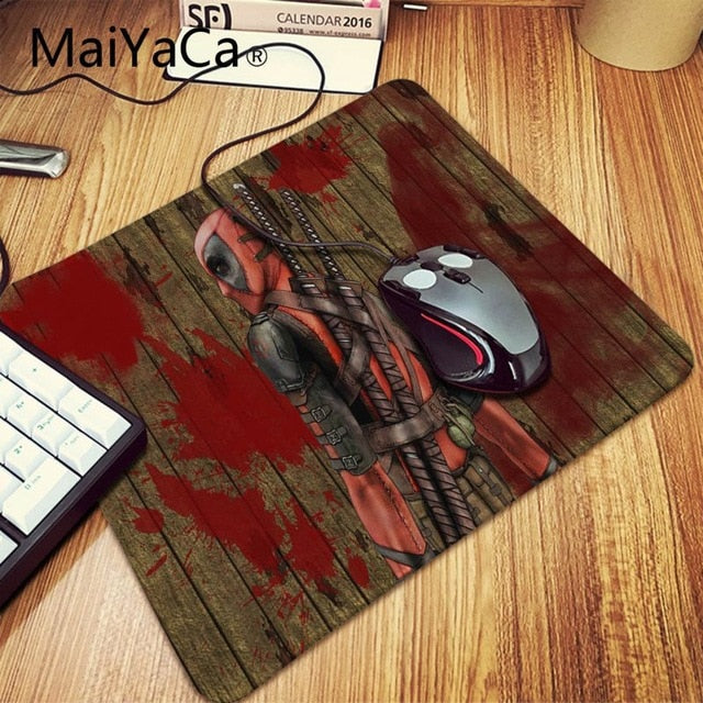 MaiYaCa Deadpool iron Man Mousepad - Shop For Gamers