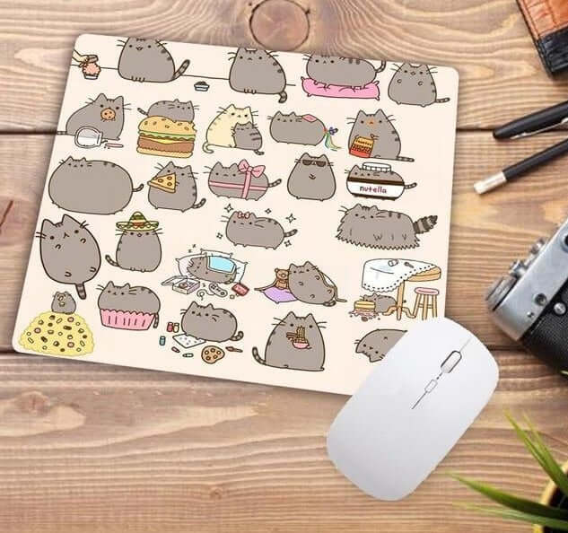Funny Cute Cats Pattern Mouse Pad - Shop For Gamers