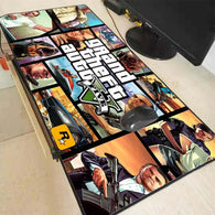GTA V Game Large Gaming Mouse Pad - Shop For Gamers