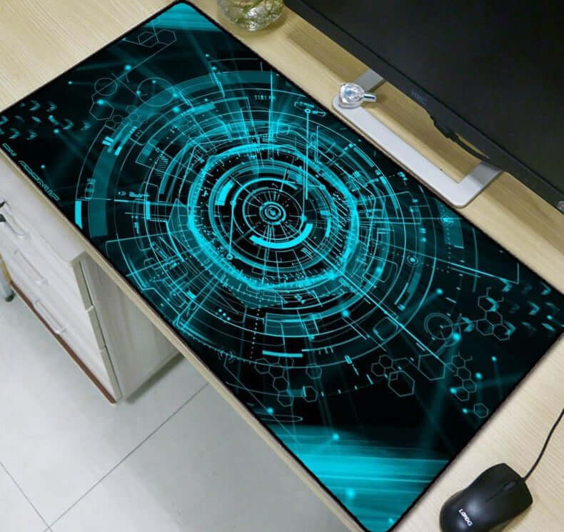 Green Light Extra Large Mouse Pad - Shop For Gamers