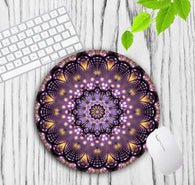 Mandala Flowern Round Mouse Pad - Shop For Gamers