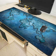 World Map Large Gaming Mouse Pad - Shop For Gamers