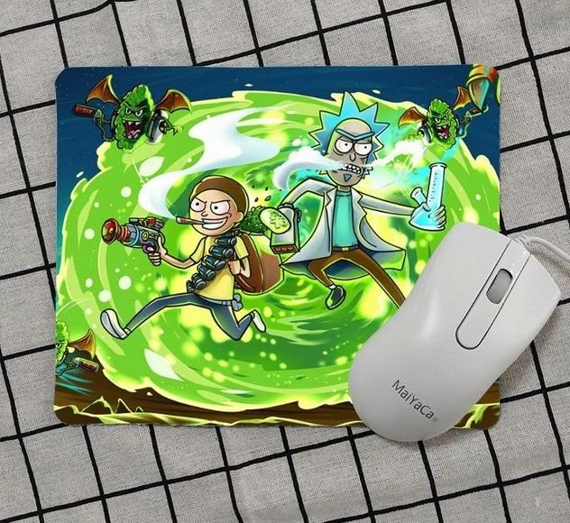 High Quality Rick And Morty Keyboard Gaming Mouse Pad - Shop For Gamers