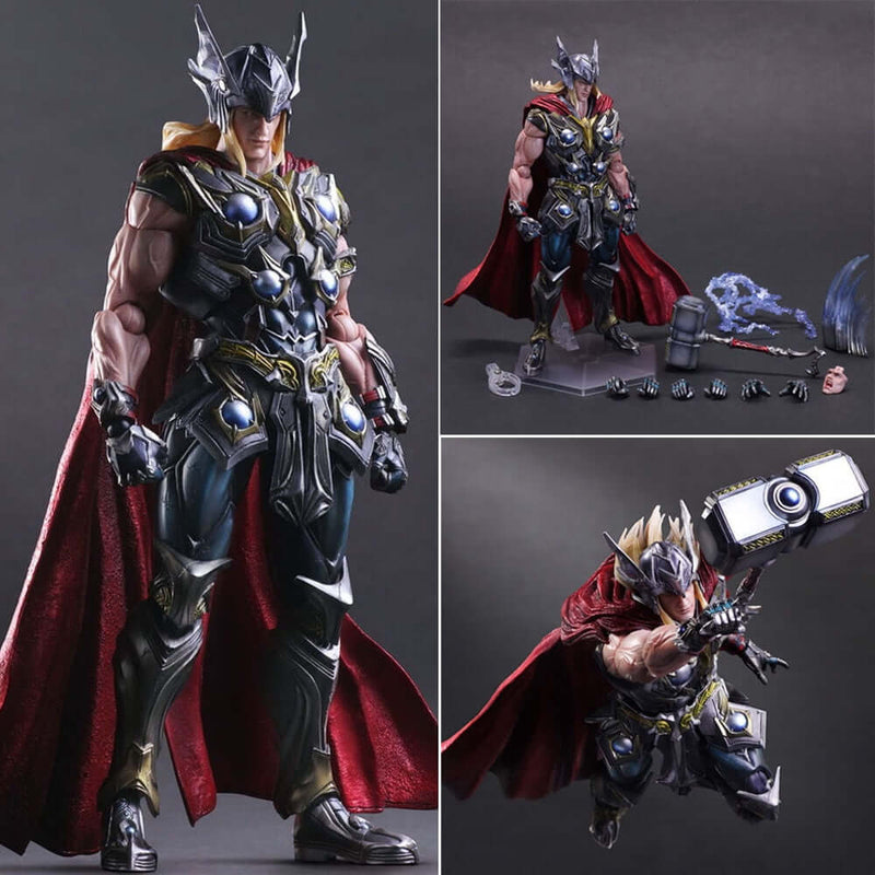 Marvel Thor With Hate Hero PVC Action Figure - Shop For Gamers