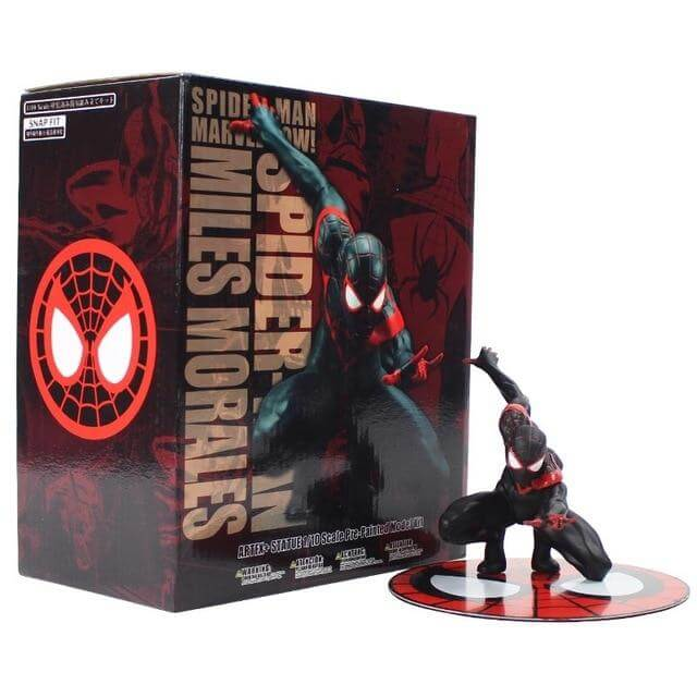 Spiderman Miles Morales Action Figure - Shop For Gamers