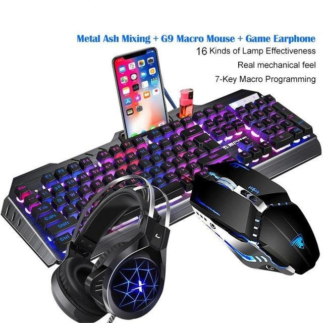 TA-SBTZ-G3G9 Mechanical Keyboard And Mouse Headset - Shop For Gamers