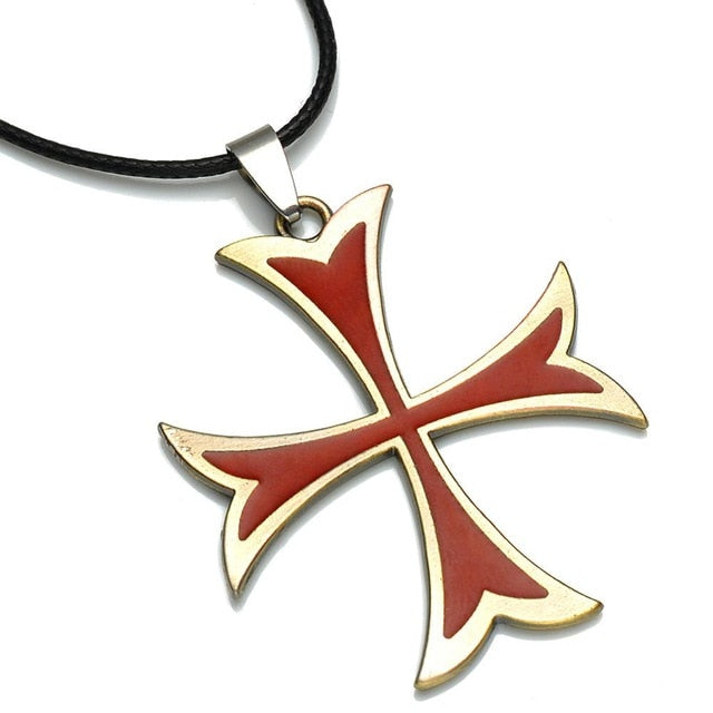 Assassins Creed Templar Iron Cross Necklace - Shop For Gamers