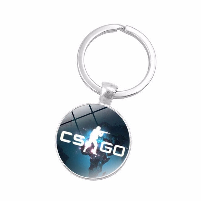 CS Go Game Keychain - Shop For Gamers