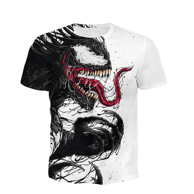 Venom 3D Printed T-Shirt - Shop For Gamers