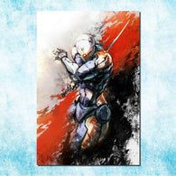 Metal Gear Solid Games Silk Canvas Art Poster - Shop For Gamers