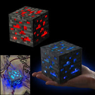 Minecraft Light Up Ore Square Action Figure - Shop For Gamers