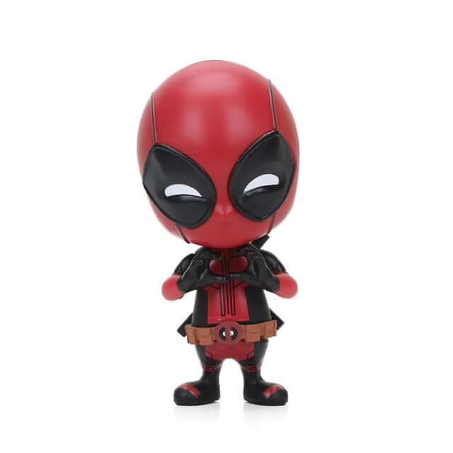 Mini Marvel Deadpool Bobble-Head Action Figure  - Shop For Gamers