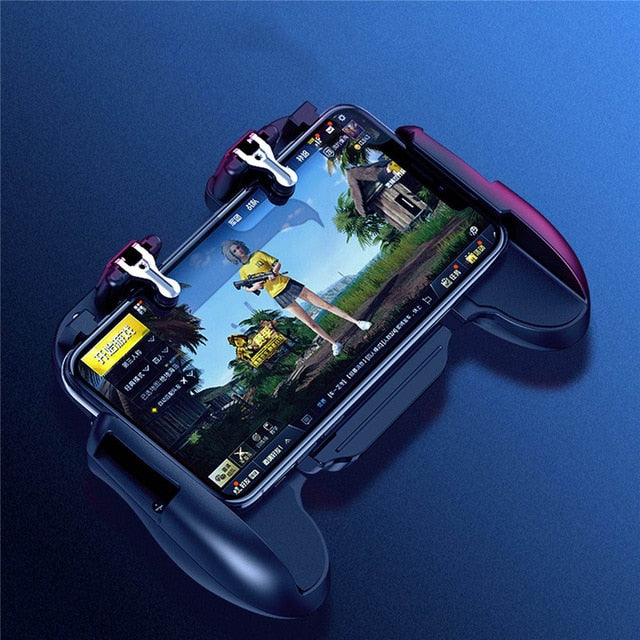 Mobile Phone L1R1 Controller Holder with Cooling Fan - Shop For Gamers
