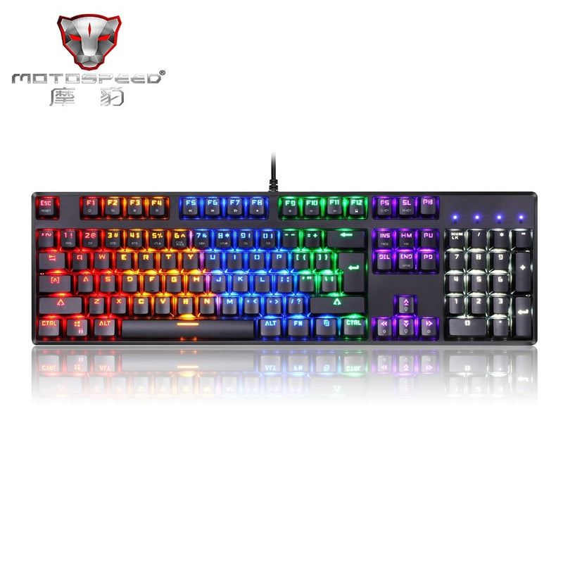 Motospeed CK96 Mechanical Keyboard - Shop For Gamers