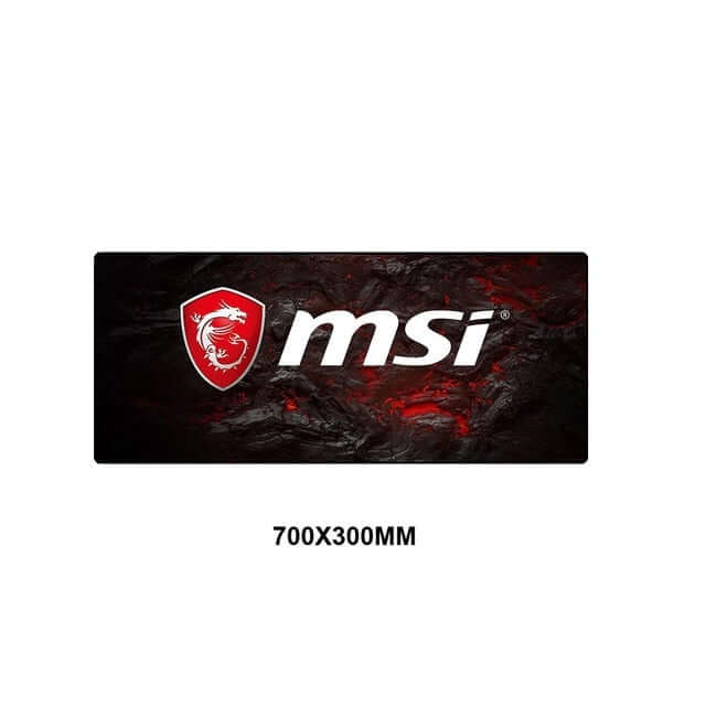 MSI Logo Gaming Mouse Pad - Shop For Gamers