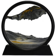 Sand Art Picture Round Glass - Shop For Gamers