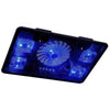 "NA JU Laptop Cooler Pad 14"" 15.6"" 17"" With 5 Fans - Shop For Gamers"