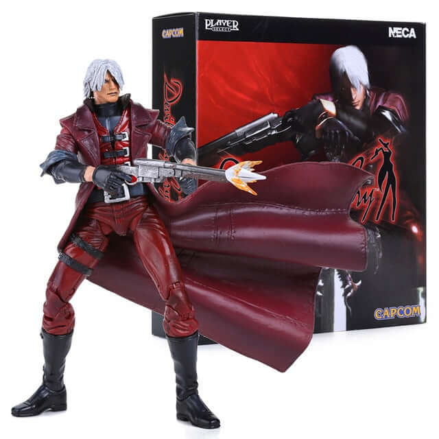 Devil May Cry Dante Action Figure - Shop For Gamers