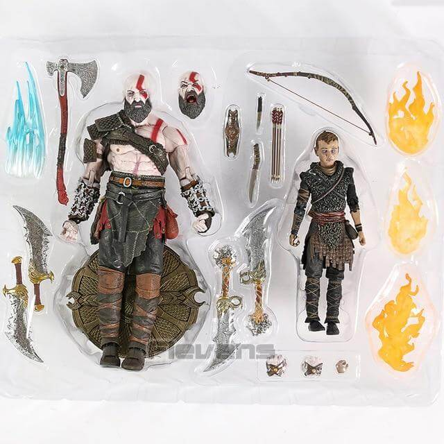 God of War Kratos & Atreus Action Figure - Shop For Gamers