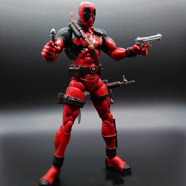 Super hero Deadpool Loose Action Figure - Shop For Gamers