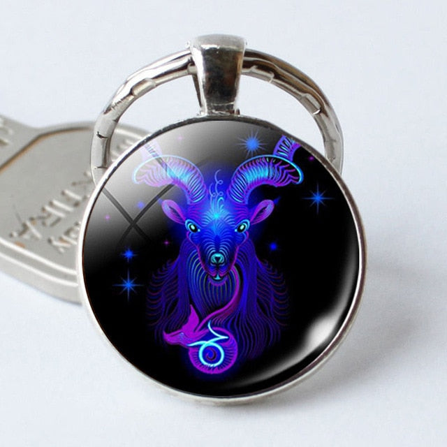 Zodiac Signs Key Chain - Shop For Gamers