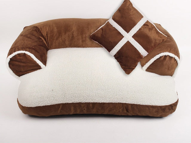 Naturelife Warm Double-Cushion Dog Bed - Shop For Gamers