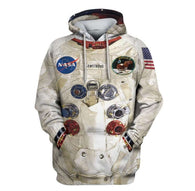New 3D Armstrong Space Suite Hoodie - Shop For Gamers