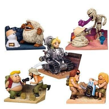 Metal Slug Game Collectible Action Figures 5Pcs - Shop For Gamers